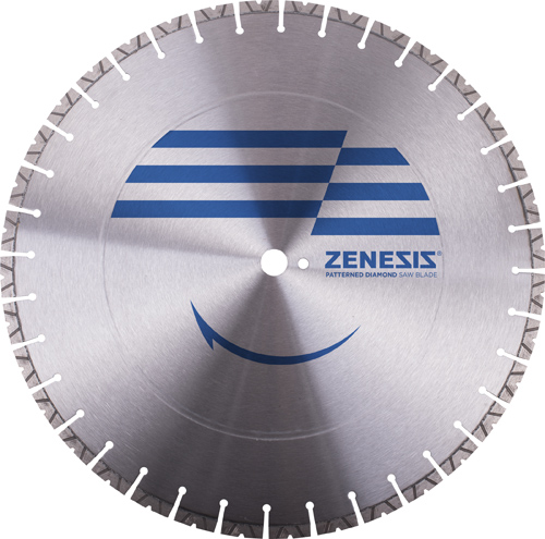 V NOTCH ZENESIS CONCRETE BLADE